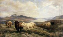 Landscape with Cattle, Morning