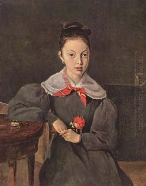 Portrait Of Octavie Sennegon 1833