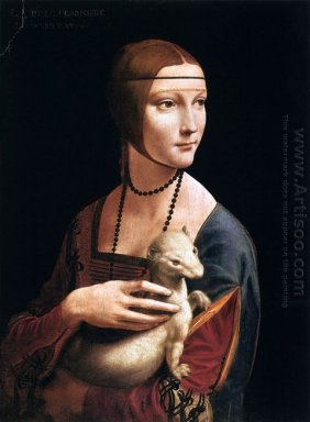 The Lady With The Ermine Cecilia Gallerani 1496