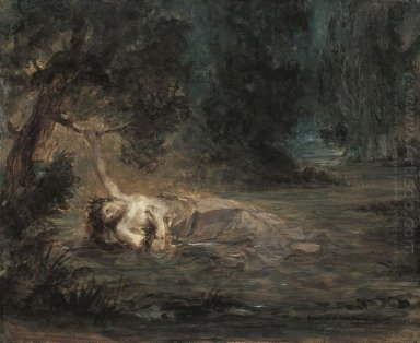 The Death Of Ophelia 1838