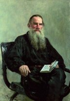 Portrait Of Leo Tolstoy 1887