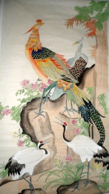 Peacock&Pheasant&Crane - Chinese Painting