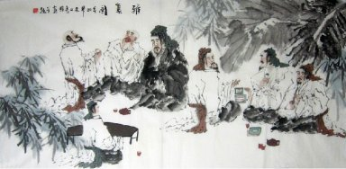 Summer day-Chinese Painting