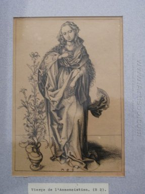 Engraving On Copper Of The Annunciation