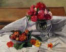 Flowers And Strawberries 1920