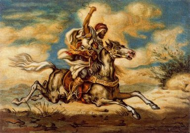 Arab On Horseback