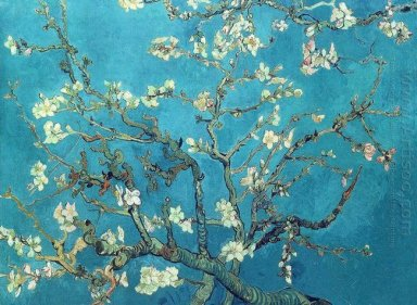 Oil painting reproduction vincent van gogh branches with almond