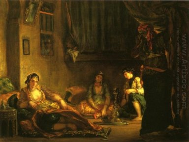 Women Of Algiers In Their Apartment 1849