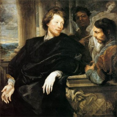 george gage with two men 1623