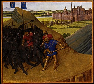 Victory Of Henry I On His Brother Robert 1460