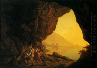 A Grotto In The Kingdom Of Naples With Banditti 1778