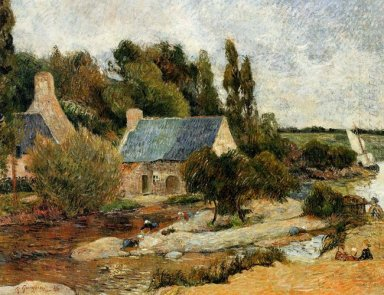washerwomen at pont aven 1886