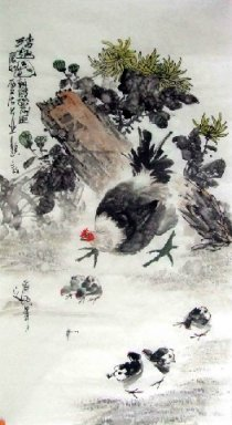 Chicken-Chick - Chinese Painting