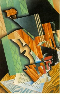Violin And Glass 1915