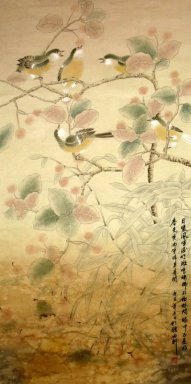 Brids&Fruit - Chinese painting