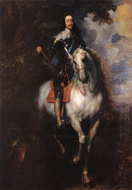 equestrian portrait of charles i king of england 1640