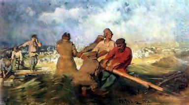 Storm On The Volga 1891