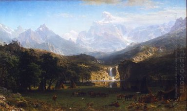 the rocky mountains lander s peak 1863