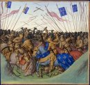 Battle Of Fontenoy En Puisaye In 841