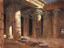 The Temple Of Isis On Philae Island 1882