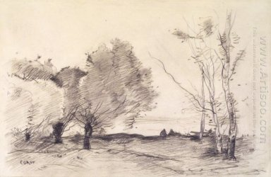 Willows And White Poplars 1872