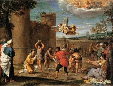 the stoning of st stephen 1604