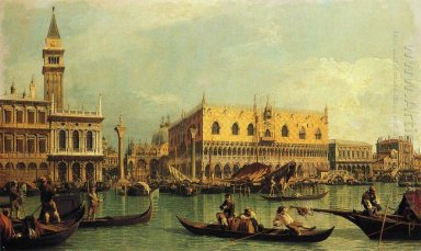 piazzetand the doge s palace from the bacino di san marco