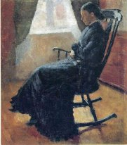 Aunt Karen In The Rocking Chair 1883