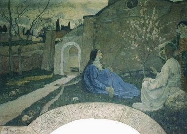 Christ With Martha And Mary 1911