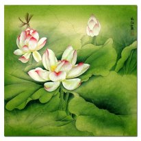 Lotus-Summer - Lukisan Cina