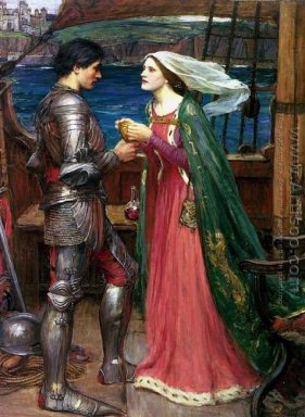 Tristan and Isolde with the Potion 1916