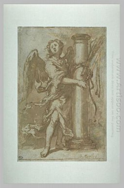 Angel With The Instruments Of Whipping 1660