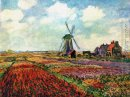 Feld der Tulpen in Holland