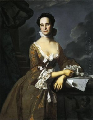 Mrs Daniel Hubbard Mary Greene 1764