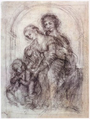Study For St Anne