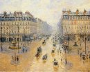avenue de l opera snow effect 1899
