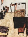 schiele s room in neulengbach 1911