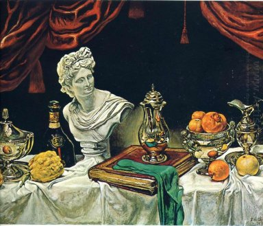 Still Life With Silver Ware 1962