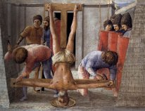 Crucifixion Of St Peter 1426
