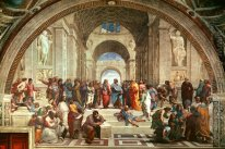 The School Of Athens [Detil: 1]