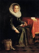 Portrait of Eva Wtewael