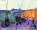 Port Of Saint Tropez Evening Effect
