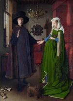 The Arnolfini Wedding The Portrait Of Giovanni Arnolfini And His