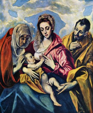 Holy Family (The Virgin of the Good Milk) 1594-1604