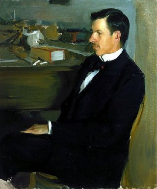 Portrait Of M I Heylik 1901