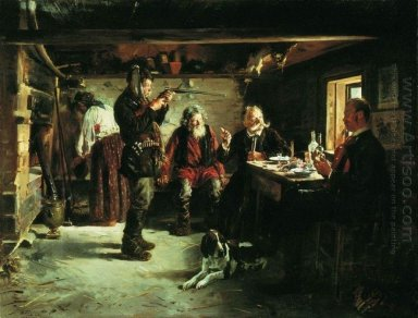 In The Hut Of Forester