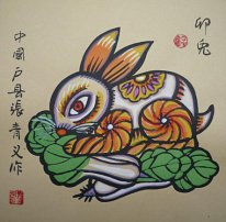 Zodiac&Rabbit - Chinese Painting