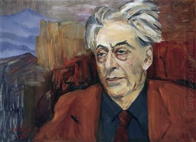 Portrait Of Ilya Ehrenburg 1959