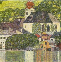 Chruch Dalam Unterach On The Attersee