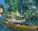 Rowing Boats On The Banks Of The Oise 1890